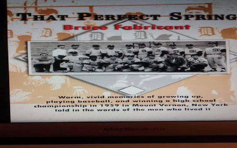Somers, New York, Author Recalls 1959 High School Championship Baseball Team and Season