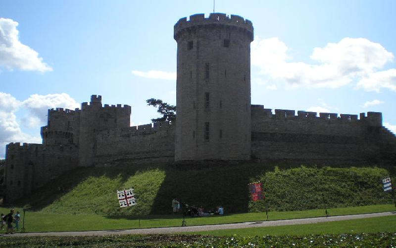 Summer Travel to Warwick Castle in England Makes Great Educational Experience for Kids