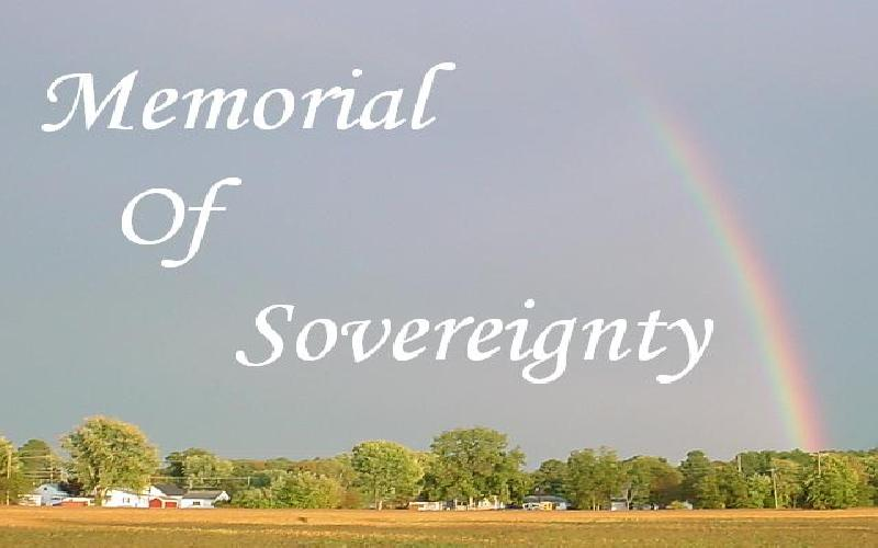 Memorial Of Sovereignty