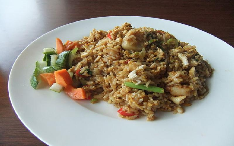 Vegetable Fried Rice Recipe Indo- Chinese Procedure