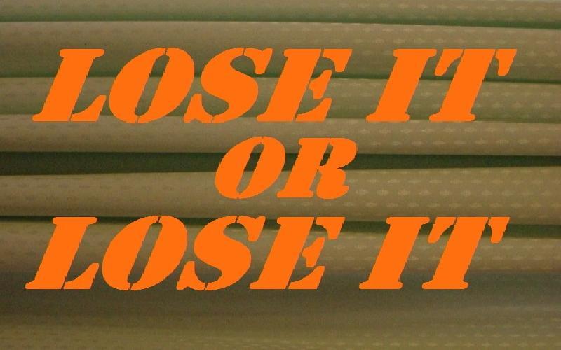 Lose It Or Lose It