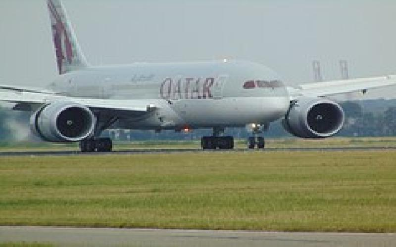 Flying by Qatar Airlines from the Middle East