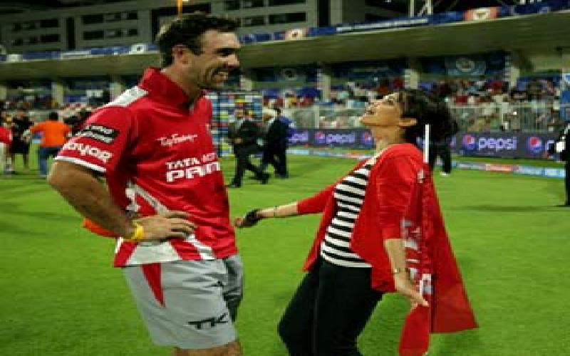 Glenn Maxwell had brought smile in the faces of Preity Zinta and other sponsors of King Eleven Punjab.