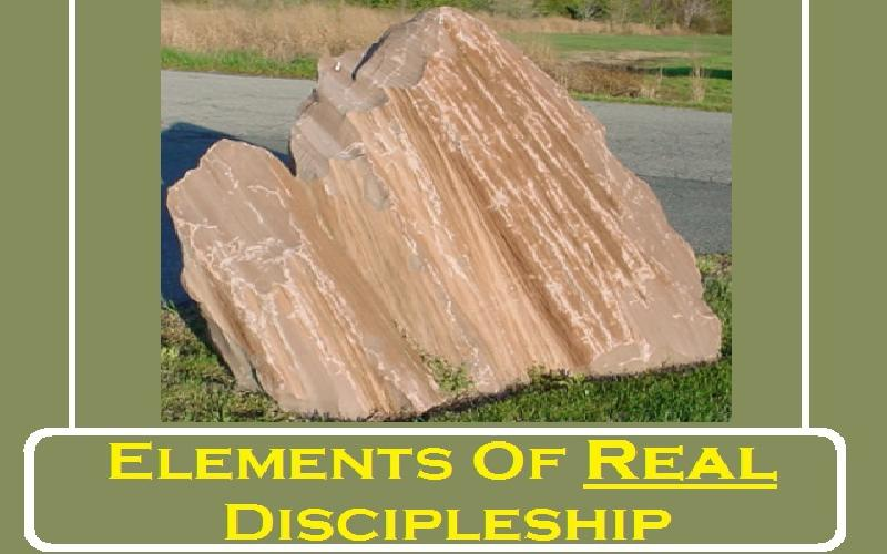 Elements Of Real Discipleship