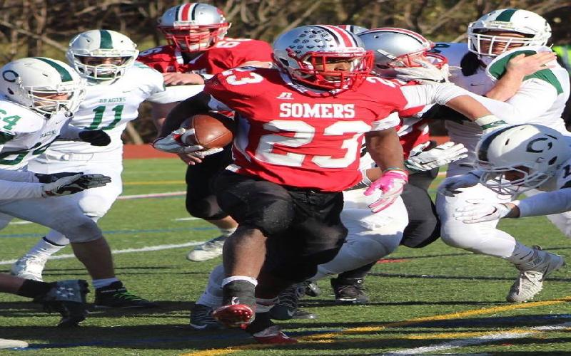 Somers Turns Cornwall over in 28-7 Victory in State Regionals