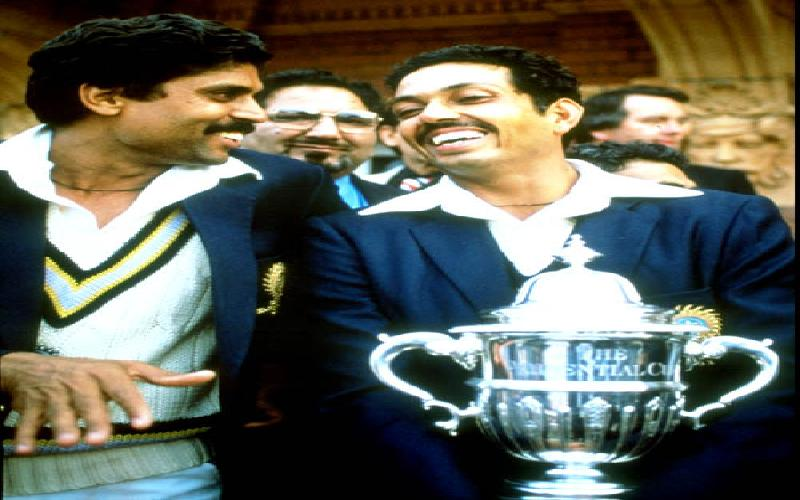 Kapil Dev versus Ian Botham in the 1980s.