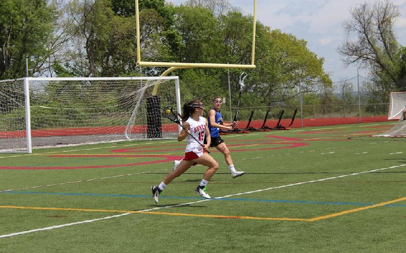 Somers Girls Preserve Perfect Season with 13-11 Victory over Bronxville