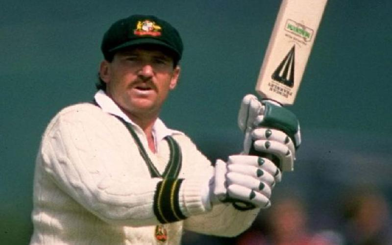 Allan Border versus Javed Miandad in the 1980s.