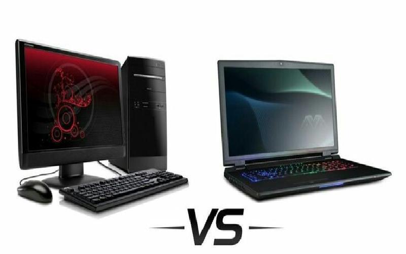 Advantages and disadvantages of laptop and desktop