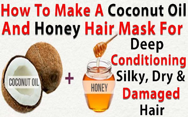 DIY Honey and Coconut Oil Hair Masks for Strong & Shiny Hair