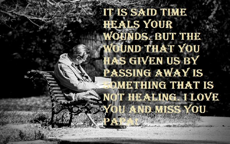 I Miss You Messages For Father After Death - Samplemessages Blog