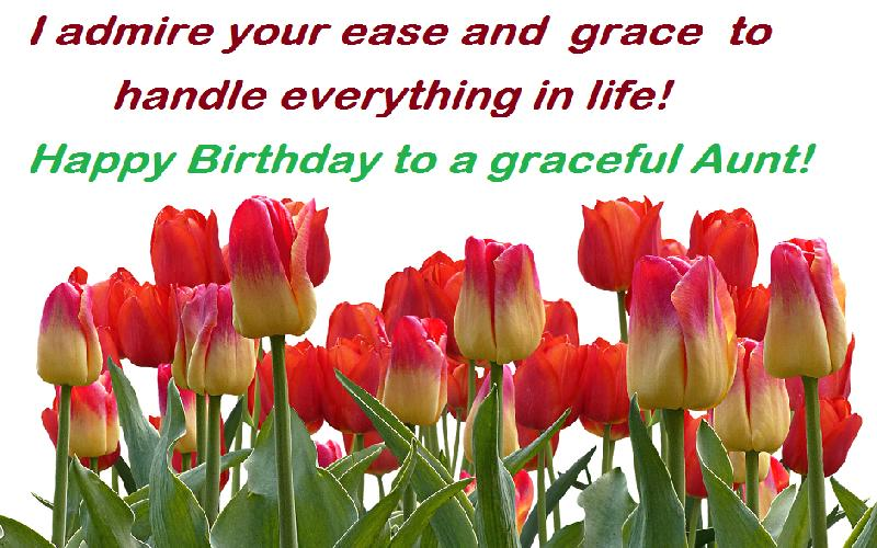 Happy Birthday Auntie: 25 Birthday Wishes, Greetings and Quotes to Say Happy Birthday to an Auntie