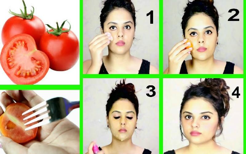 How to Use Tomato on Face Overnight : 5 Ways to Apply Tomato on Face