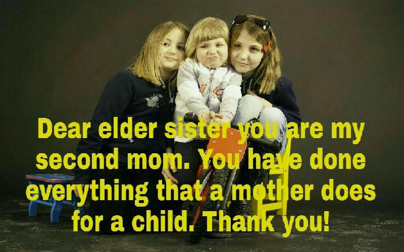 Best Thank You Messages for Sister