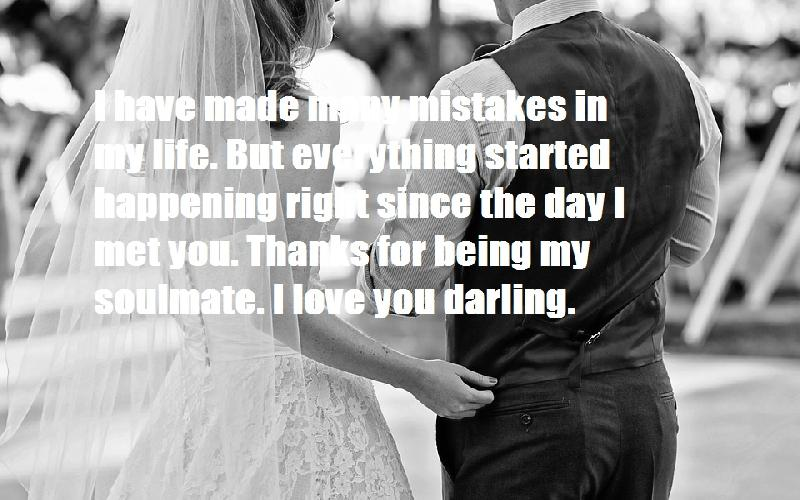 Romantic Love Quotes For Wife from Husband