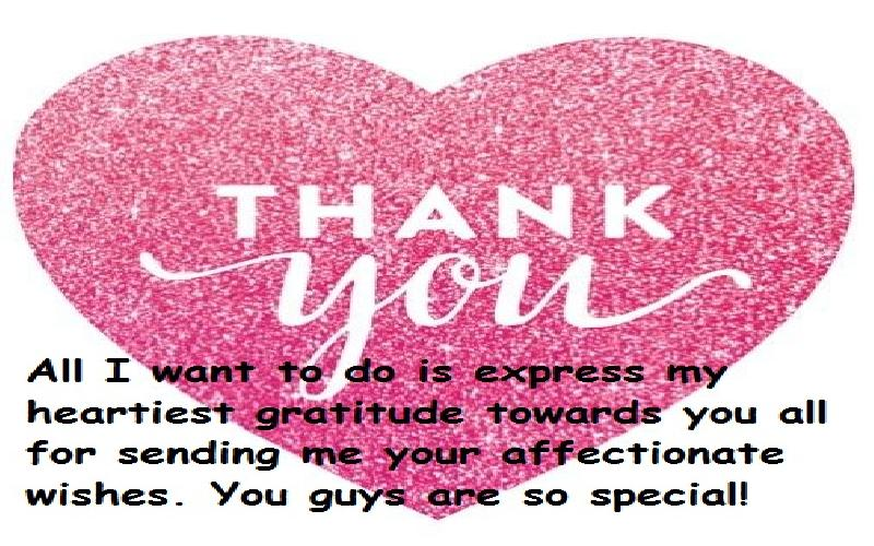 Top Thank You Messages For Birthday Wishes Thank You Quotes For