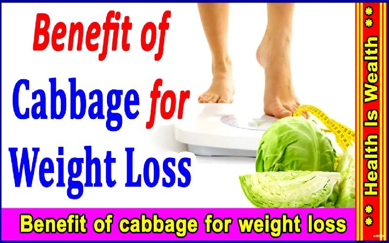 How Cabbage Helps in Weight Loss
