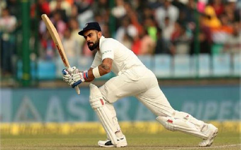 Virat Kohli Indian Captain  Crosses 5000 runs in Test Cricket
