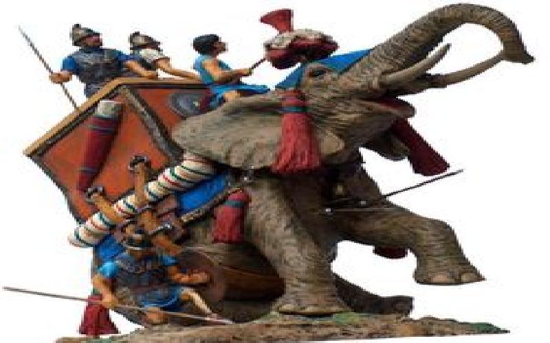 Elepants as War Weapons