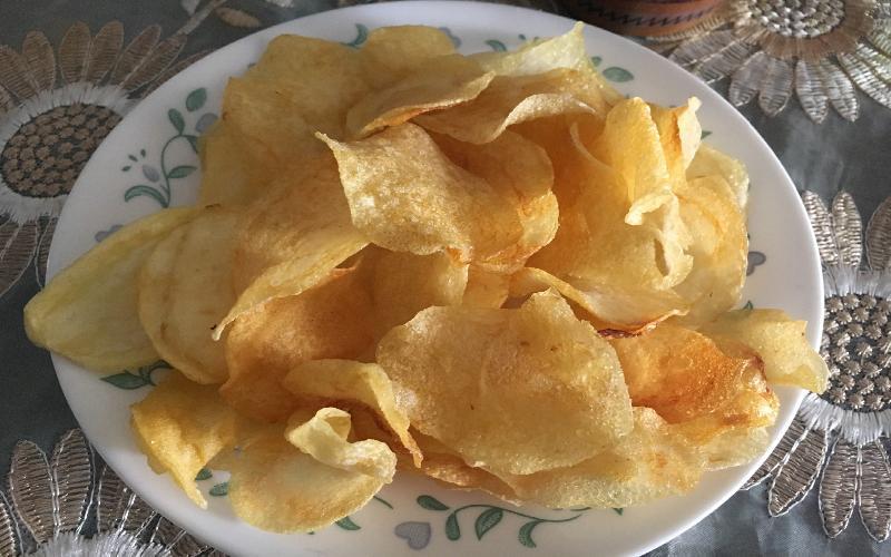 Tasty Homemade Potato Chips Recipe
