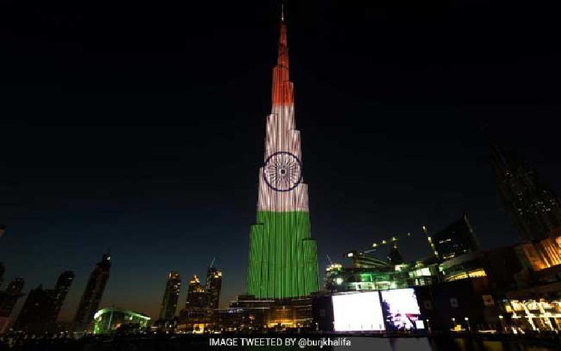 The UAE celebrates India's Republic Day