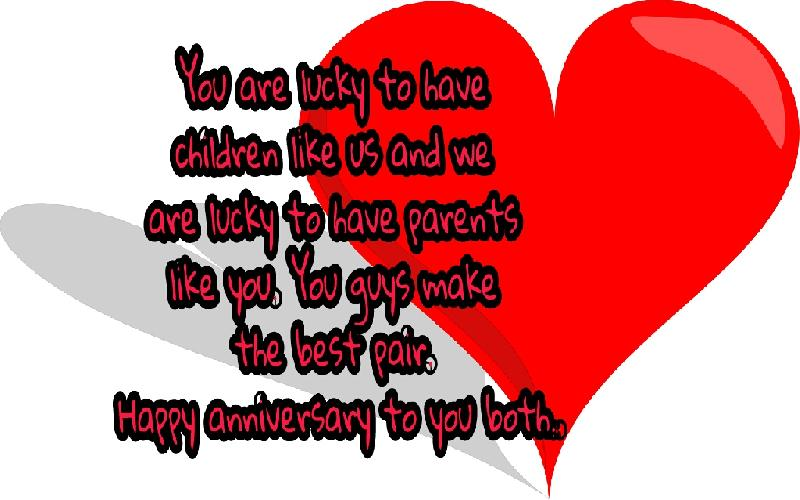 Marriage Anniversary Quotes and Wishes for Parents