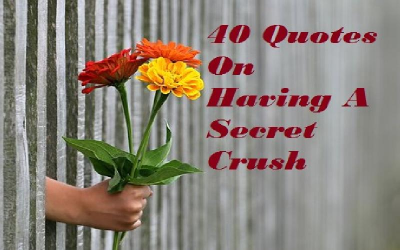40 Quotes On Having A Secret Crush - Samplemessages Blog