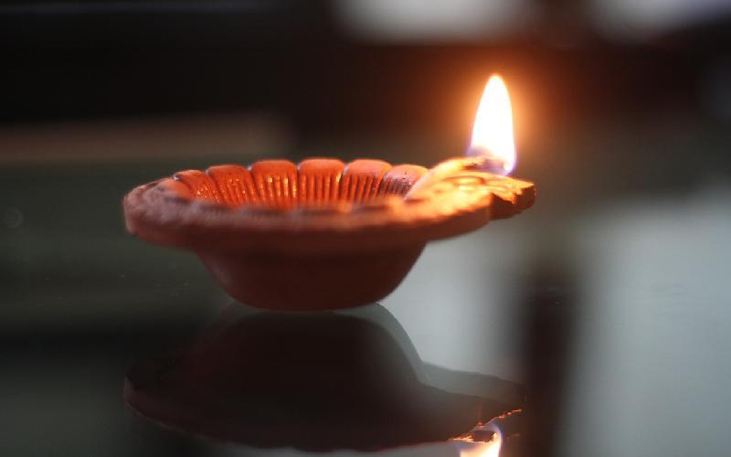 My Diwali Lamp is Still Alive!