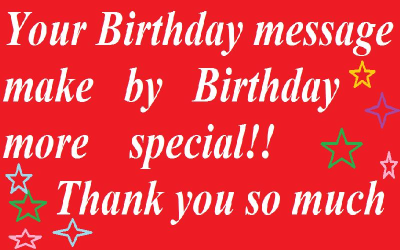 21 Thank You Quotes For My Birthday Wishes Samplemessages Blog
