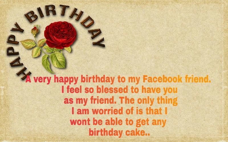 21 Exciting Birthday Wishes for Friend on Facebook
