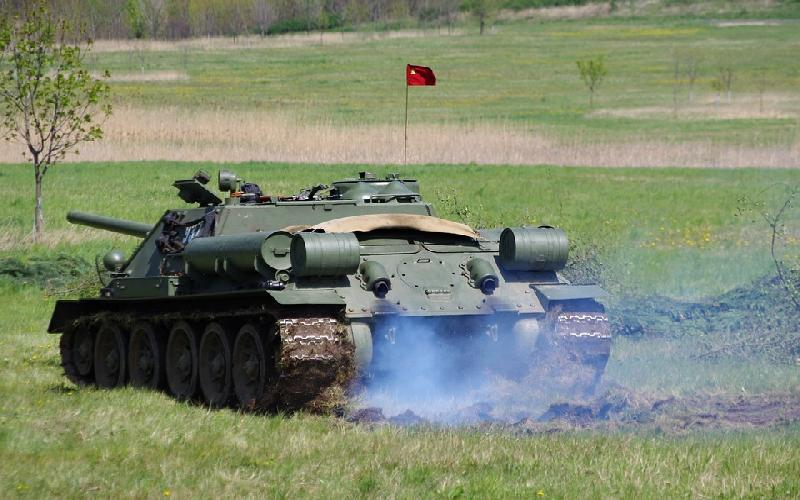 The Baithlon a Tank Olympics was held for the 3rd year in Russia