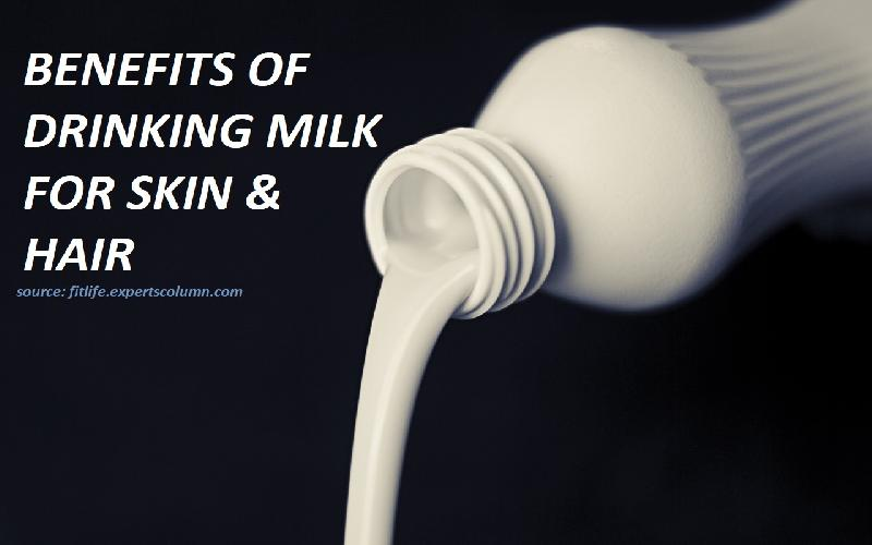 7 Benefits of Drinking Milk for Skin and Hair