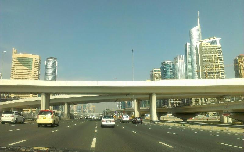 Travelogue; By Road from Abu Dhabi to Dubai