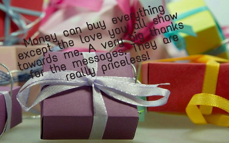Top Thank You Messages for Birthday Wishes | Thank You Quotes for Birthday Wishes
