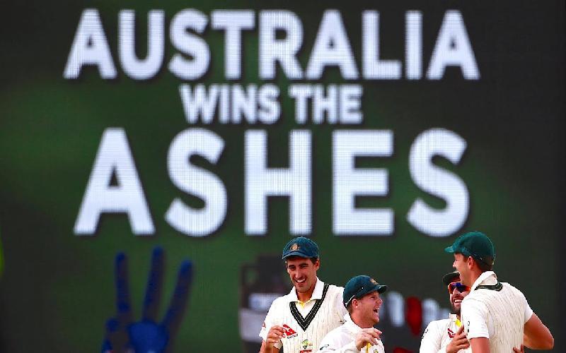 Australia Win Back the Ashes