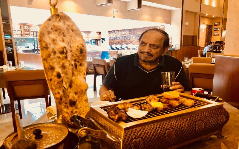 Dining in Dubai at the Nayab Handi