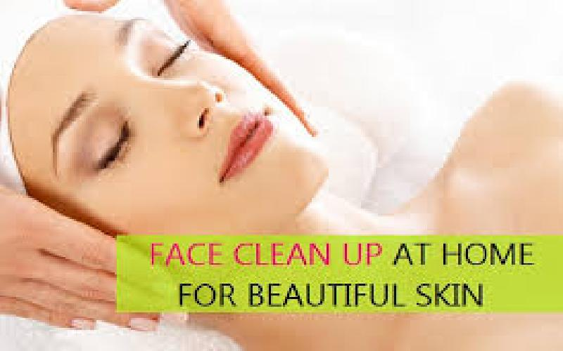Face clean up benefits : How to do facial clean up at home step by step