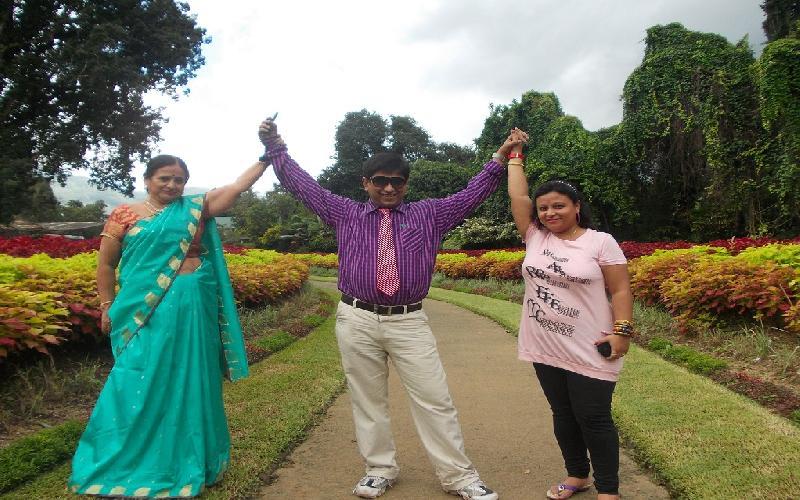 The Peradeniya Botanical Garden in Sri Lanka is a paradise.