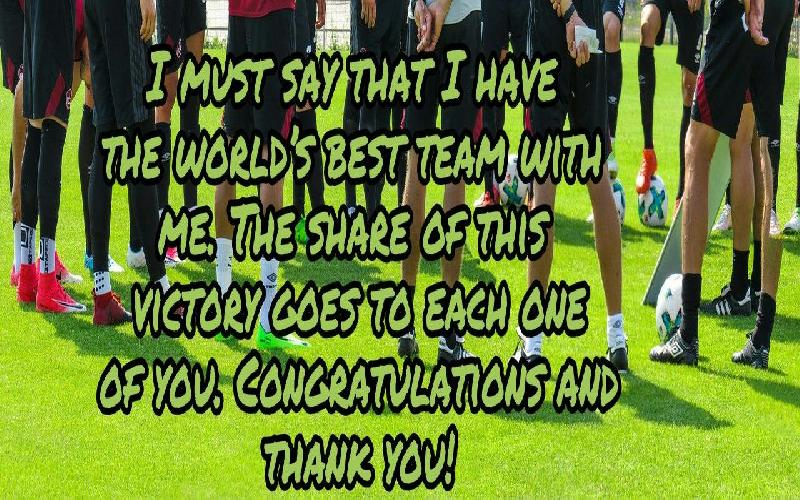 Thank You Messages For Sports Team Members | Quotes and Notes to Thank Fellow Team Members