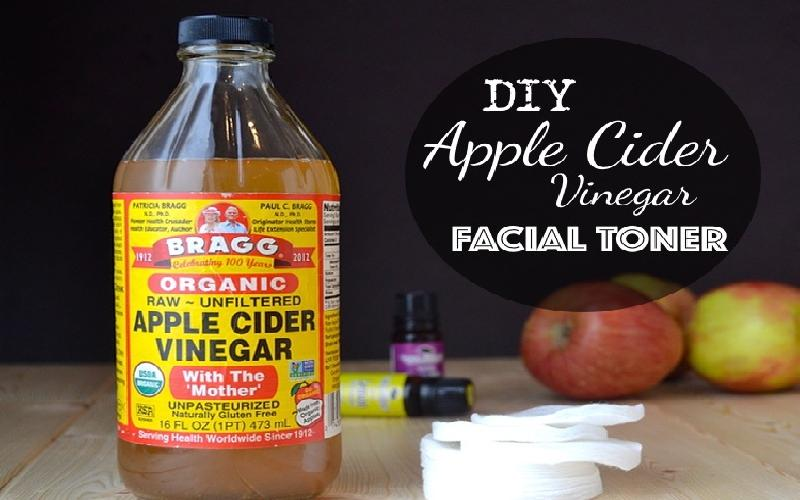 Homemade Apple Cider Vinegar Face Toners for Beautiful Skin