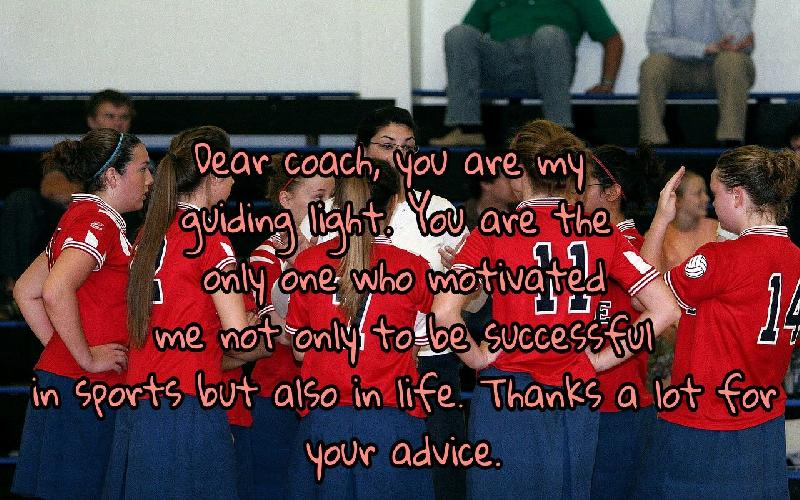 Thank You Messages For Coach | Appreciation Quotes and Notes ...