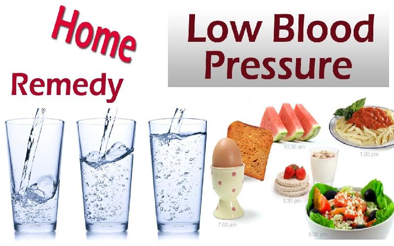 Home Remedies for Low Blood Pressure ( Hypotension )
