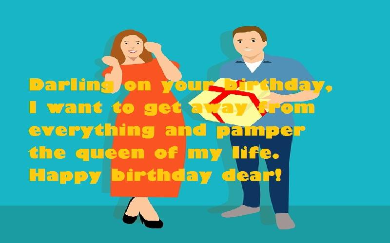 Birthday Wishes and Messages for a Wife