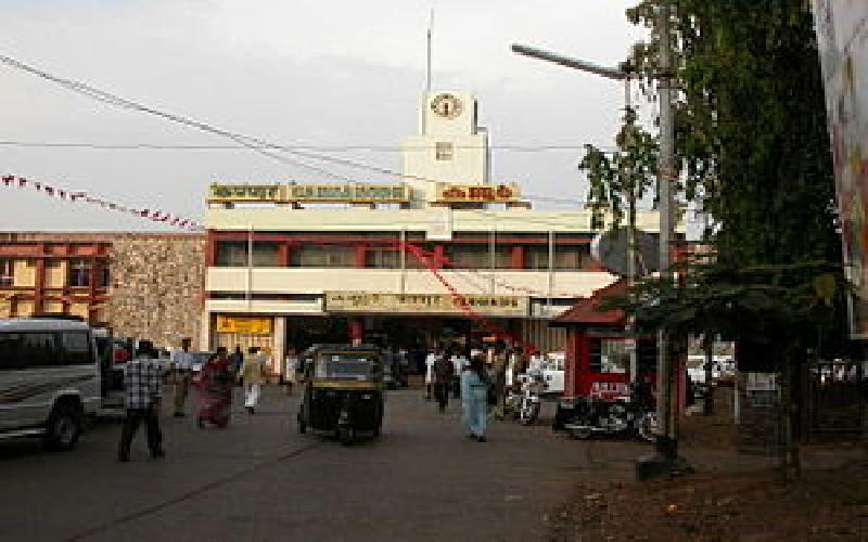 Madgaon, Goa to Kannur, Kerala 26.10.11