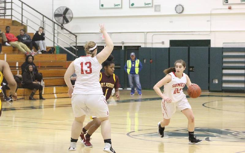 Somers Falls to Mt. Vernon 53-41 in First Round of Yorktown Tournament