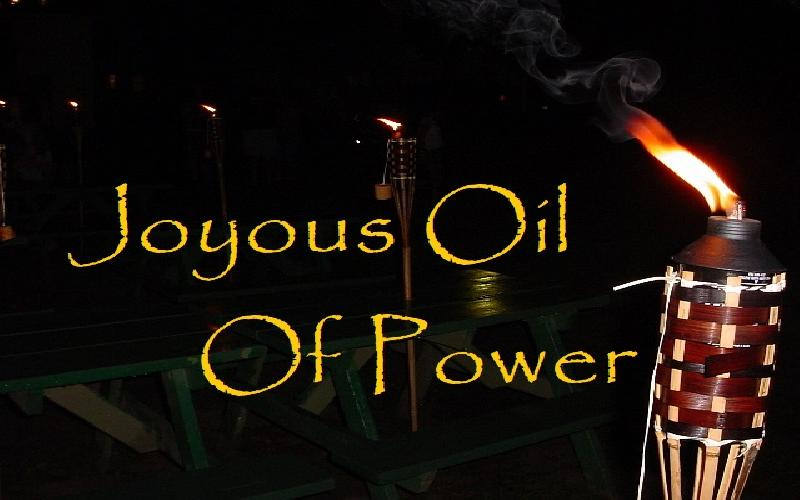 Joyous Oil Of Power