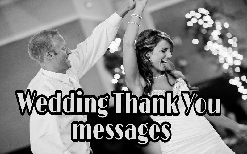 Wedding Thank You Messages, | Quotes for Thanking You for Attending Wedding | Thank You Notes for Wedding
