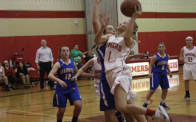 Mahopac is no Match for Tuskers in First Round of Somers Basketball Tournament