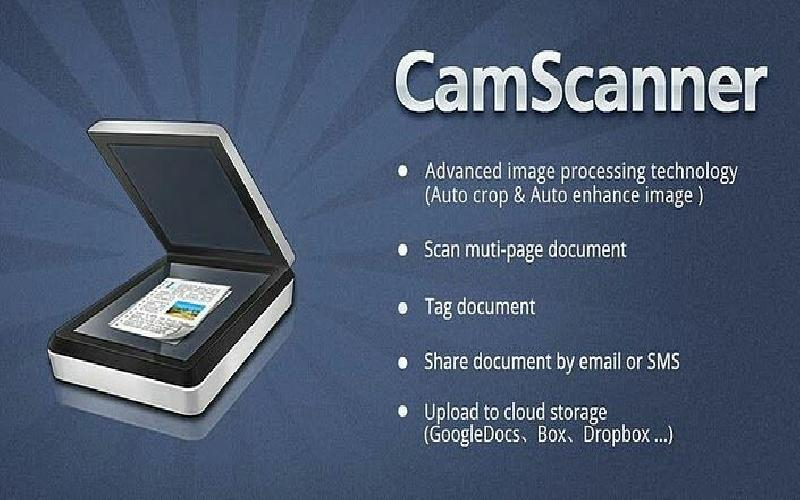 CamScanner for storing our documents
