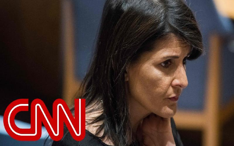 Author Michael Wolff insinuates that Nikki Haley has an affair with Trump
